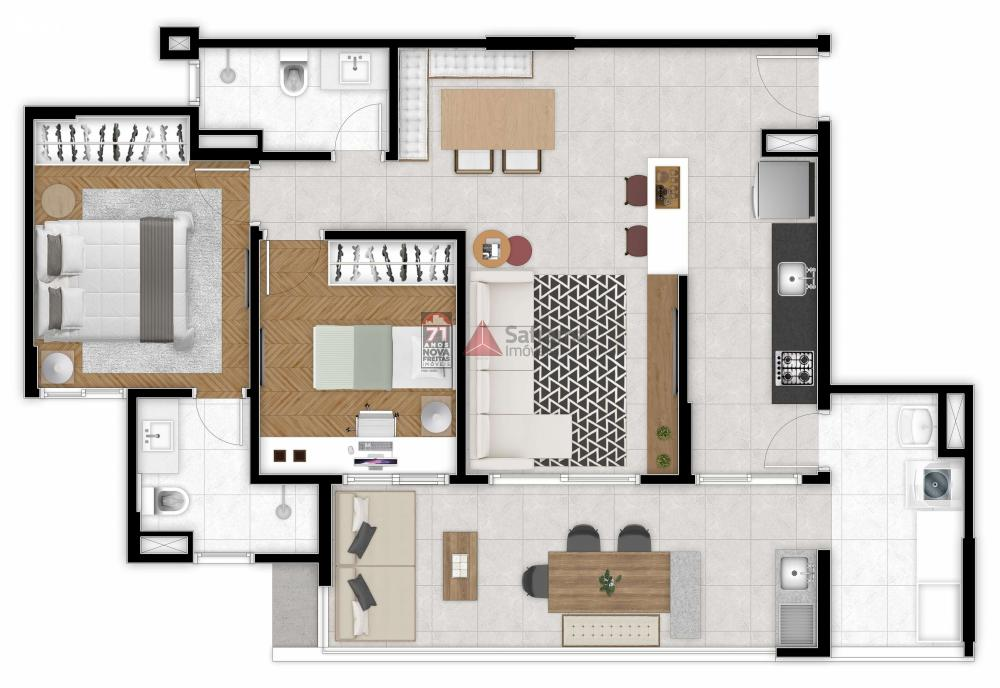 Comprar Apartamento / Padrão em São José dos Campos apenas R$ 616.000,00 - Foto 1