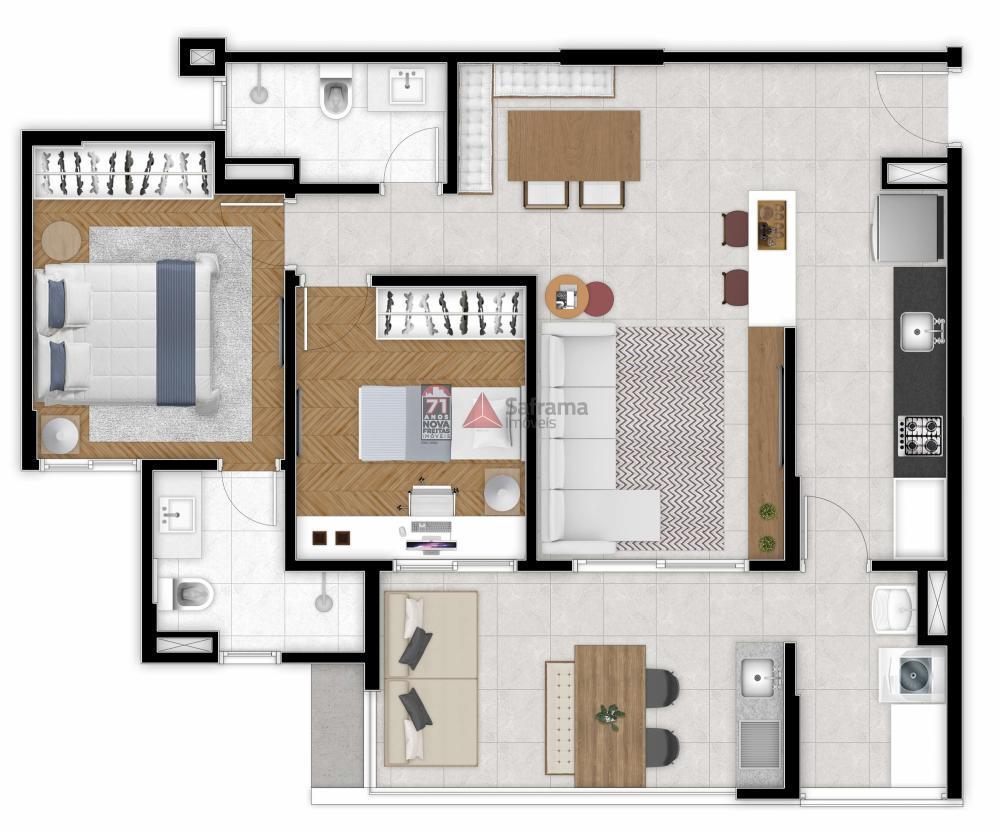 Comprar Apartamento / Padrão em São José dos Campos R$ 641.000,00 - Foto 1