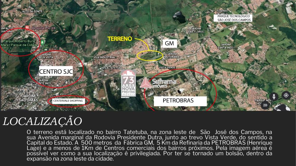 Terreno / Industrial em São José dos Campos , Comprar por R$31.282.600,00