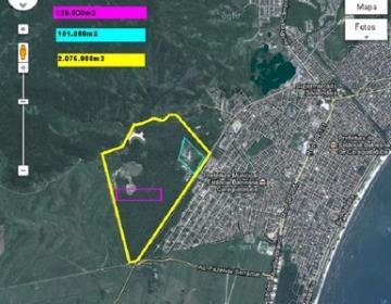Caraguatatuba Jardim Jaqueira Area Venda R$12.900.000,00  Area do terreno 129000.00m2