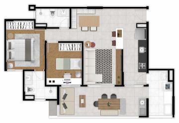 Alugar Apartamento / Padrão em São José dos Campos. apenas R$ 616.000,00