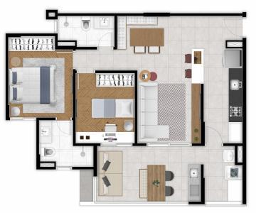Apartamento / Padrão em São José dos Campos